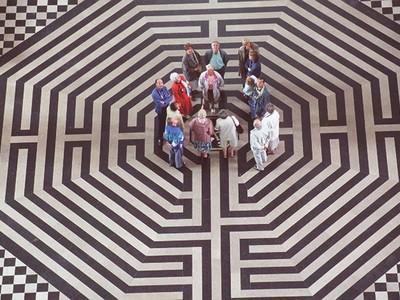 cathedrale labyrinthe visiteurs, Somme.jpg