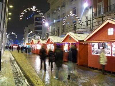 christmas market amiens france
